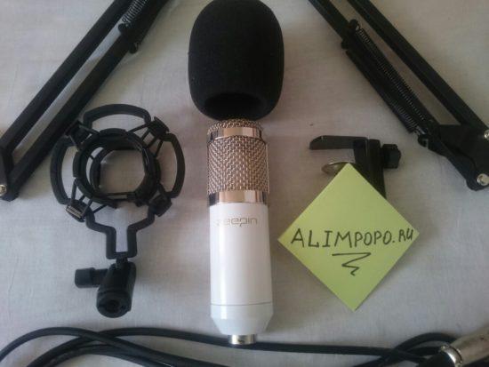 Микрофон со стойкой