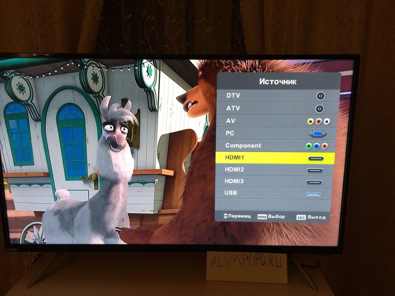 67e163638fa Обзор и отзыв на Большой телевизор Goldstar LT-40T460F - обзор и ...