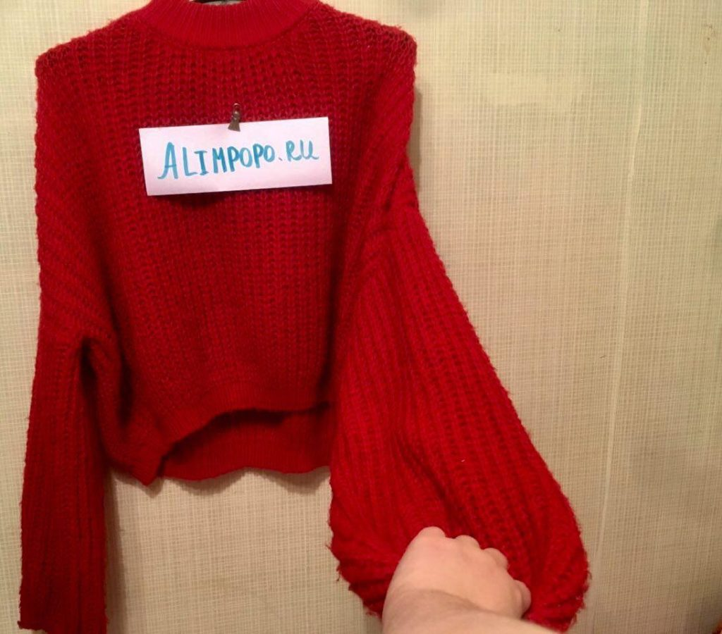 Фото женского свиттера с Алиэкспресс Simplee